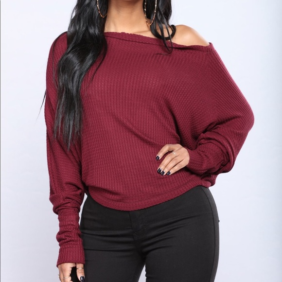 Fashion Nova Tops - Off shoulder top by fashion nova